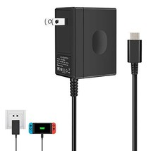 Charger for Nintendo Switch,AC adapter for Nintendo Switch - Fast Travel Wall Ch - $22.15
