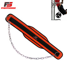 FIGHTSENSE Dipping Belt Chain Powerlifting Belt Gym Weight Lifting Fitne... - $11.87