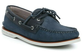 Men's Sperry Top-Sider Gold Cup A/O Boat Shoe, STS18600 Multiple Sizes Blue/Navy - $139.95