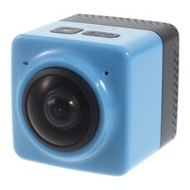 B360 WiFi Sports Panorama Camera with 1/4 Screw Interface - Blue - $191.52