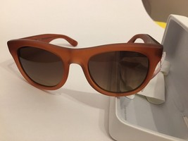 8b6a84fbcae7 B 4207 3553 13 Brand New Authentic BURBERRY SUNGLASSES 56-22-140 Coffee -
