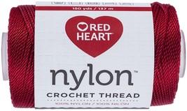 Red Heart Nylon Crochet Thread Size 18-Red - $12.86