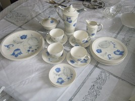 1950's Syracuse China Shelledge Patented Vogue Coffee Place Settings - $198.00