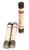 LOT OF 3 GOULD SHAWMUT TRI-ONIC TRS20R, TRS2R TIME DELAY FUSES