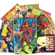 Iron Man 9 Comic Lot VF NM Marvel Volume 2 & 3 Carol Danvers Hulk War Ma... - $19.75