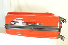 "Traveler's Choice 29"" Sedona new spinner red polycarbonate shell combo lock image 12"
