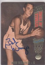 Bob Wanzer Signed Autographed 1993 Action Packed Basketball Card - Roche... - £12.25 GBP