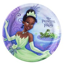 Princess and the Frog 9 Inch Plates - Count of 8 - $16.78