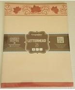 Geographics Autumn Scrolls Foliage Letterhead - 25 Sheets - $9.89