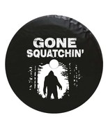 Gone Squatchin' Bigfoot Tire Cover - Many Colors - Fits Jeep JL Only - $69.95