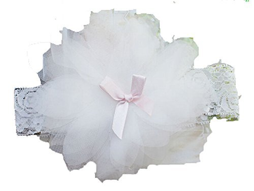 Primary image for Baby Hair Accessories Sweet Baby Girl's Gift Baby Headband Girl White Flower