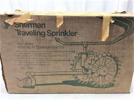 Vintage Sherman Tractor Walking Lawn Sprinkler DEADSTOCK 1500 Traveling ... - £177.52 GBP