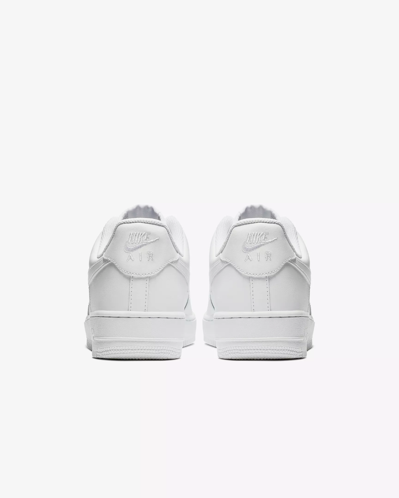 Nike Air Force 1 '07 Trainers White / Shoes / Leather Trainers image 5