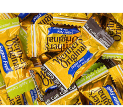 Werther's Assorted SUGAR FREE Original Hard Candy 4 LB Bulk Bag Wrapped Candies - $69.99