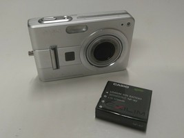 Casio Exilim EX-Z57 5.0MP Digital Camera 3x Zoom Tested Working Free Shi... - $29.99