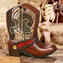 DecoBreeze Cowboy Boot Figurine Fan - DBF0122 - $85.00
