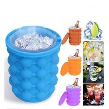 1pcs Ice Maker Silicone Space Saving Ice Maker Barrel Storage Bucket Ice - $8.99+