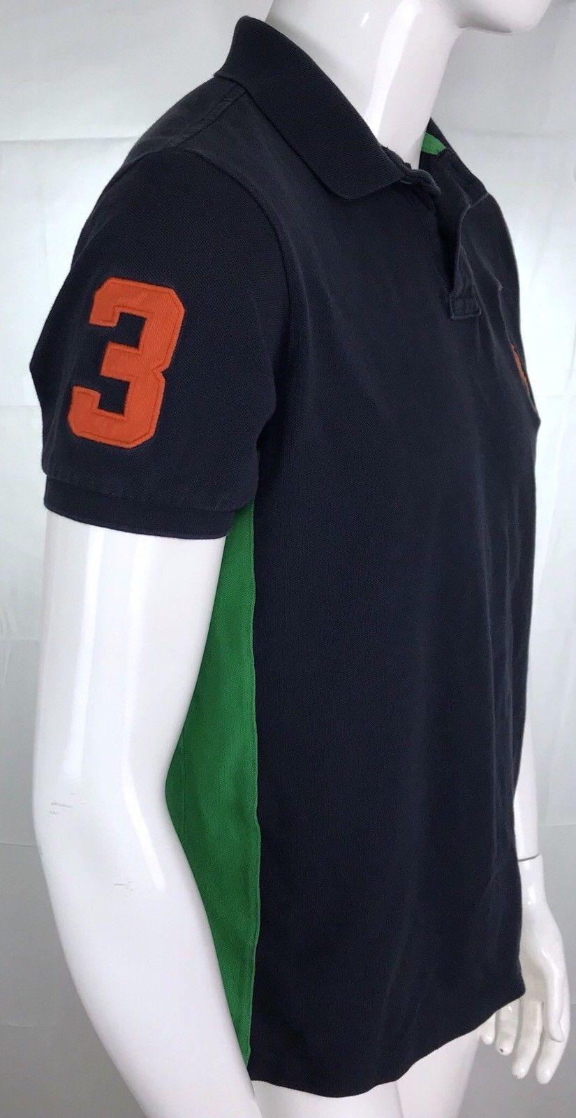 Polo Ralph Lauren Mens Large Shirt Rugby Blue