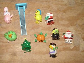 Wind Up Walker Lot Easter Halloween Christmas Santa Claus Witch Easter B... - $24.99