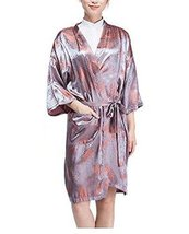 Salon Client Gown Upscale Robes Beauty Salon Smock for Clients, Maple Leaves