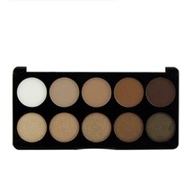 BOUB new eye shadow 10 color eyeshadow box white earth color matte - $9.99