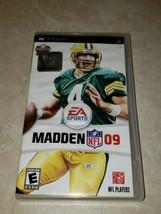 Ea Sports Madden Nfl 2009 Psp - $3.70