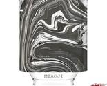 Nal art paint marble black gold fabric shower curtain multi sizes bathroom curtain thumb155 crop