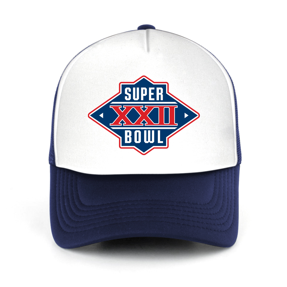 Super Bowl Party Decorations Uk: Superbowl 2017 Logo Trucker Hat Mesh Hat And 17 Similar Items