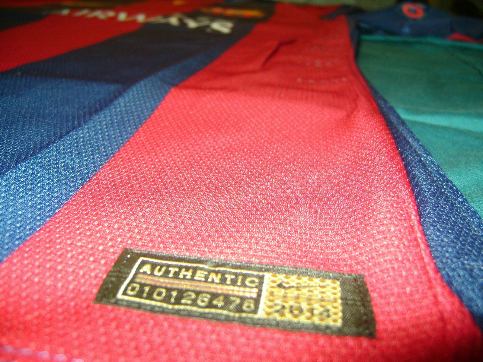 NIKE L. SUAREZ FC BARCELONA FINAL UEFA CHAMPIONS LEAGUE BERLIN 2015 MATCH JERSEY