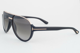 Tom Ford Dimitry Black Gold / Gray Gradient Sunglasses TF334 01P - $244.02