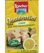 Loacker Wafer Quadratini Lemon 250g - $15.83