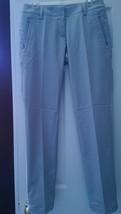 NWT Ladies ADIDAS LIGHT GRAY Long Golf Pants -  sizes 12 $90 - $36.99