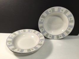 Oneida Katrin Rimmed Soup Bowl set of 3 Lovely - $16.69