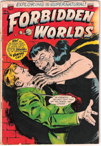 Forbidden Worlds Comic Book #15, ACG 1953 VERY GOOD- - $44.43
