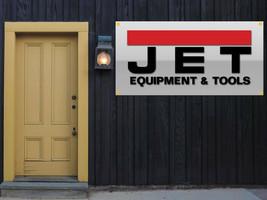 Jet Tools Equipment Vinyl Banner 2'x4' Garage or trade shows Ready Hang 13 OZ. image 1