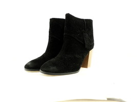 Qupid Women's Wagon 05 Ankle Boot, Black Suede, Size 8.5 B(M) US - $34.64