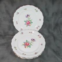 """4 Vintage Winterling Bavaria 10"""" Dinner Plates Meissen Gardens (?), 48, ... - $18.69"""