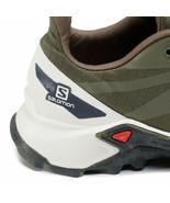 Salomon Supercross Mens Blast Green Trail Running Hiking Trainers Shoes ... - £96.37 GBP