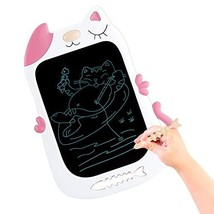 HONGKIT Learning Toys for 3 Years Old Girls,LCD Drawing Tablet for Kids for Age