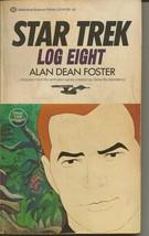 Star Trek Log 8 ORIGINAL Vintage 1976 Paperback Book Ballantine Alan D F... - $19.79