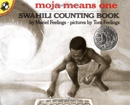 Moja Means One: Swahili Counting Book (Picture Puffin Books) [Paperback] Feeling image 2