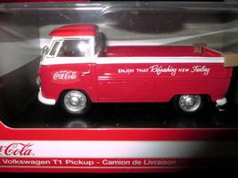 Coca-Cola 1962 Volkswagen T1  Pickup Truck 1:43 scale - $23.51