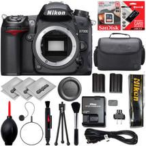 Nikon D7000 SLR Digital Camera (Body) 25468 + 20PC Starter Bundle - $449.00