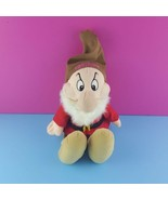 "Walt Disney Store Grumpy Dwarf Bean Bag Plush 11"" Stuffed Doll Snow White - $27.72"