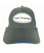 The Players Baseball Hat Dri Fit Cap Adjustable Back Gray White Ahead - $29.69