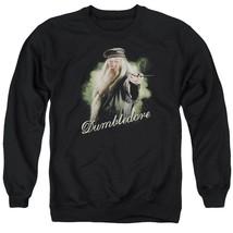 Harry Potter - Dumbledore Wand Adult Crewneck Sweatshirt Officially Lice... - $27.99+