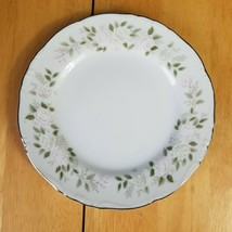 LOT of 4 Sheffield Classic Fine China Bread Plates White Pink Roses on Edge  - $4.94