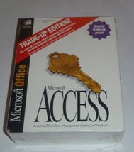 NEW Microsoft Access Trade-Up Edition Office Wi... - $44.50