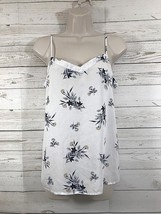 Gap Factory Spaghetti Strap 100% Rayon Floral Tank Top Sz Med - $9.85