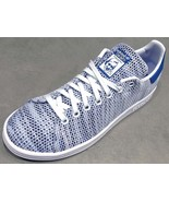 Adidas Originals Stan Smith White/Blue S82251 Classic Shoes Sneakers Tra... - $108.00